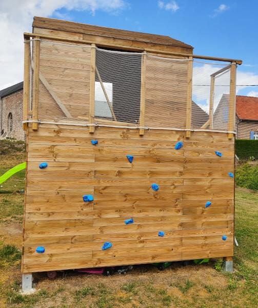Filet léger résistant pour cabane en bois jeux enfants