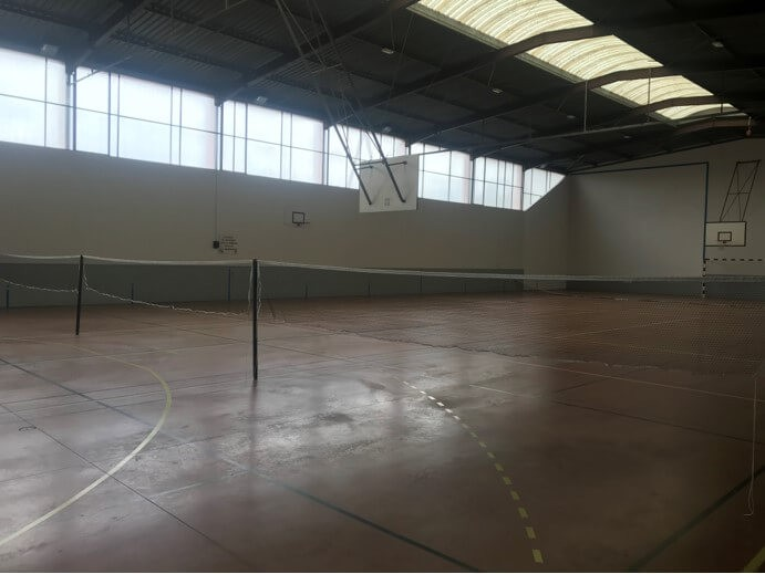 Filet de badminton renforcé pour club