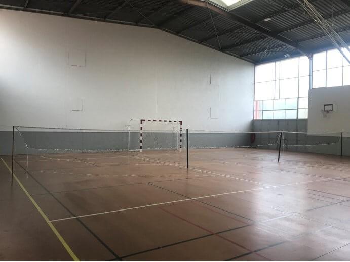 Filet de badminton renforcé pour gymnase