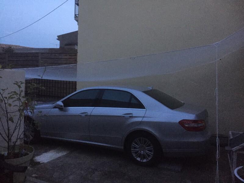 Filet de protection contre la grêle pour voiture