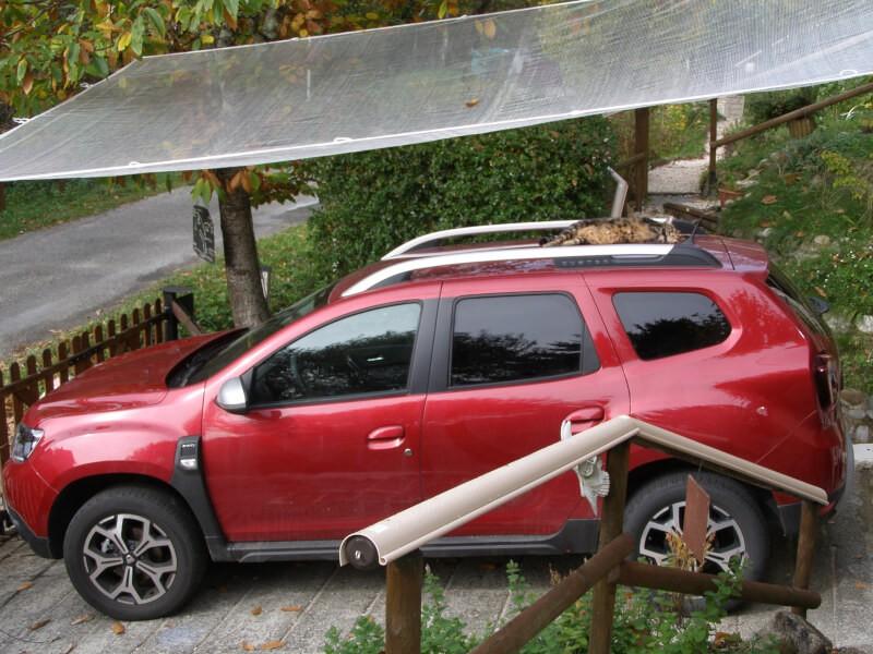 Filet de protection pour voiture contre la grêle, les feuilles et bogues de châtaigne