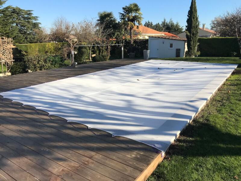 Filet anti-feuilles et salissures - Mailles 1 mm - 110 g/m²