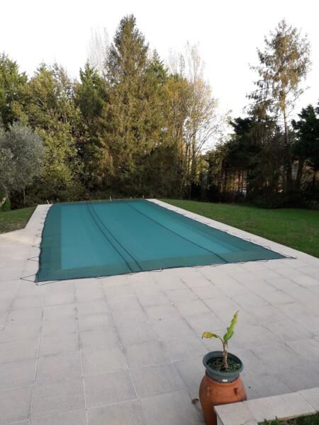 Filet anti-feuilles et salissures micro mailles pour piscine