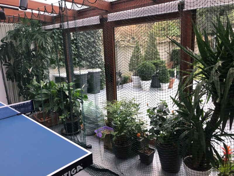 Filet de séparation de salle pour table de ping pong