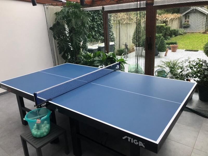 Filet de séparation de salle pour balle de ping pong