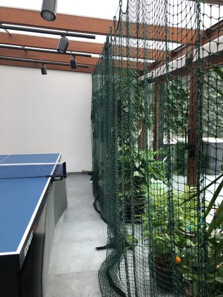 Filet de séparation de salle de ping pong