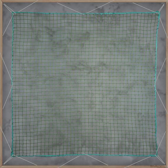 Filets de benne - mailles 25 x 25 mm - diamètres 2,5 mm