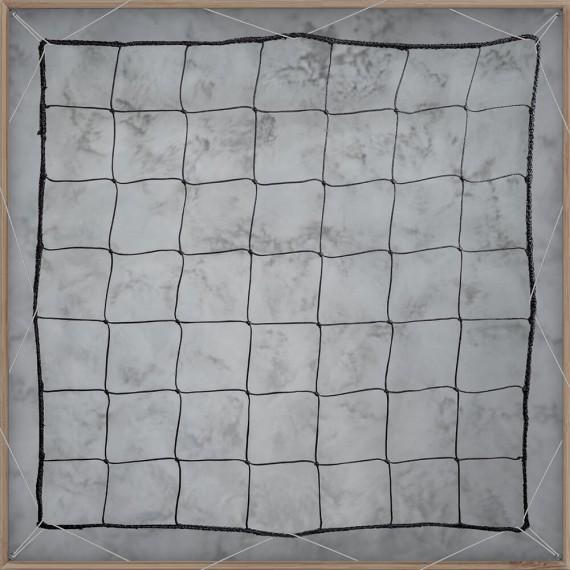 Filet pare-ballons - Mailles 145 mm - ∅ 3,5 mm - Tressé noué