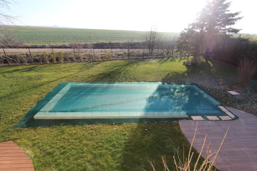 Filet anti-feuilles et salissures pour piscine
