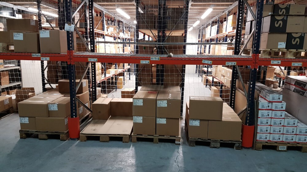 Filet de rayonnage stockage magasin