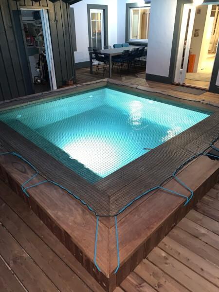 Filet de protection enfants pour piscine