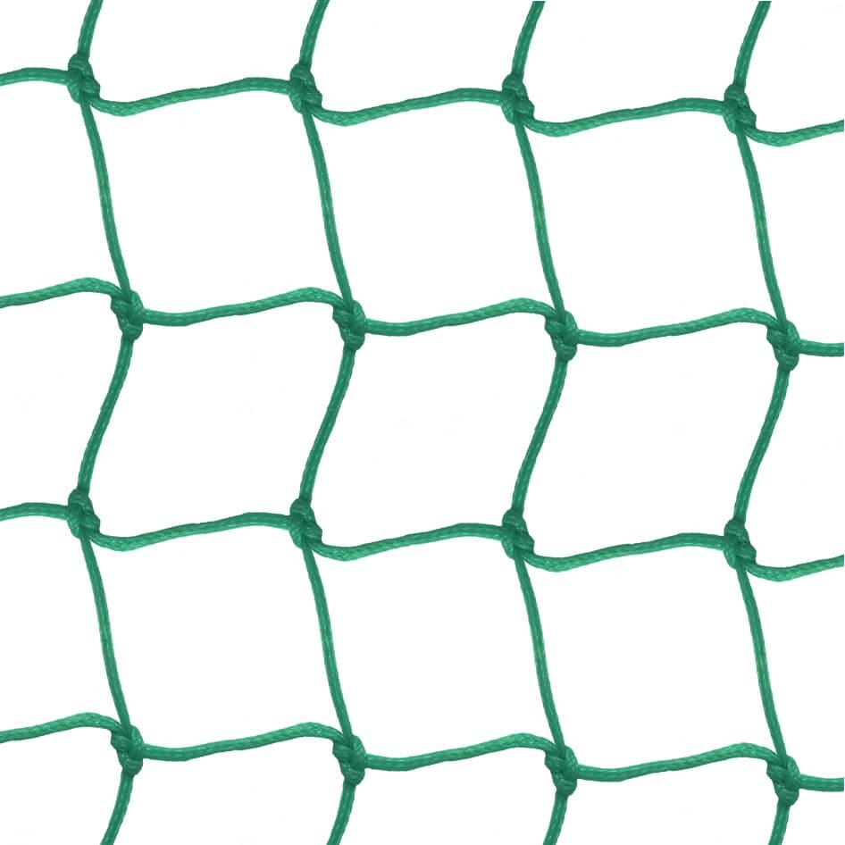 Filet polyéthylène 4 mm tressé - mailles 40 x 40 mm
