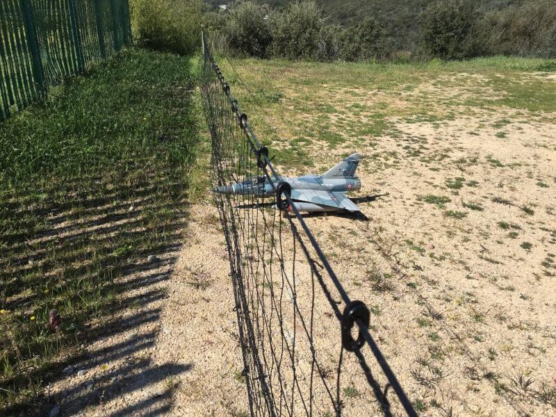 Filet de protection pour drones et aéromodélisme