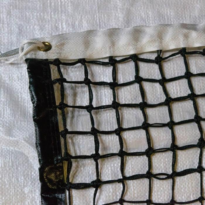 Filet de tennis compétition - doubles mailles 48 mm
