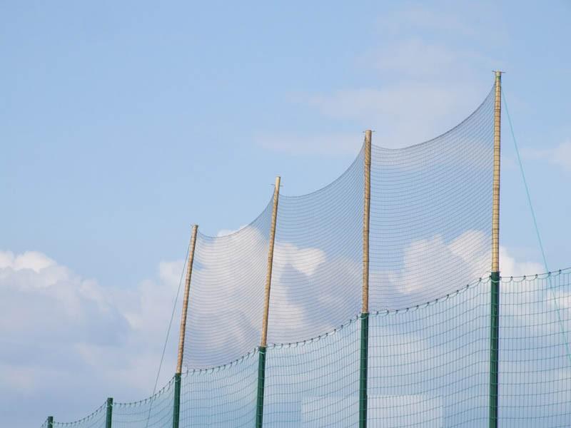 Filet pare-ballons - Mailles 50 mm - ∅ 1,8 mm - Tressé sans noeud envoyé par un client