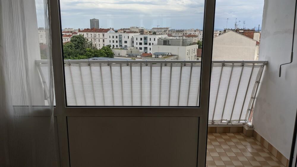 Filet brise-vue pour balcon