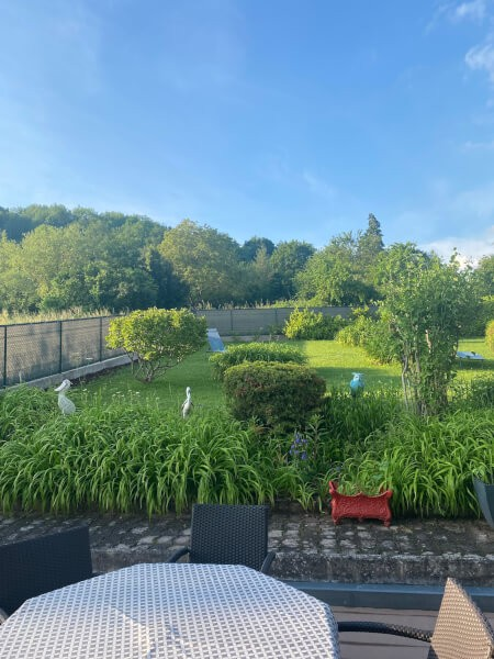Filet brise-vue gris anthracite pour jardin