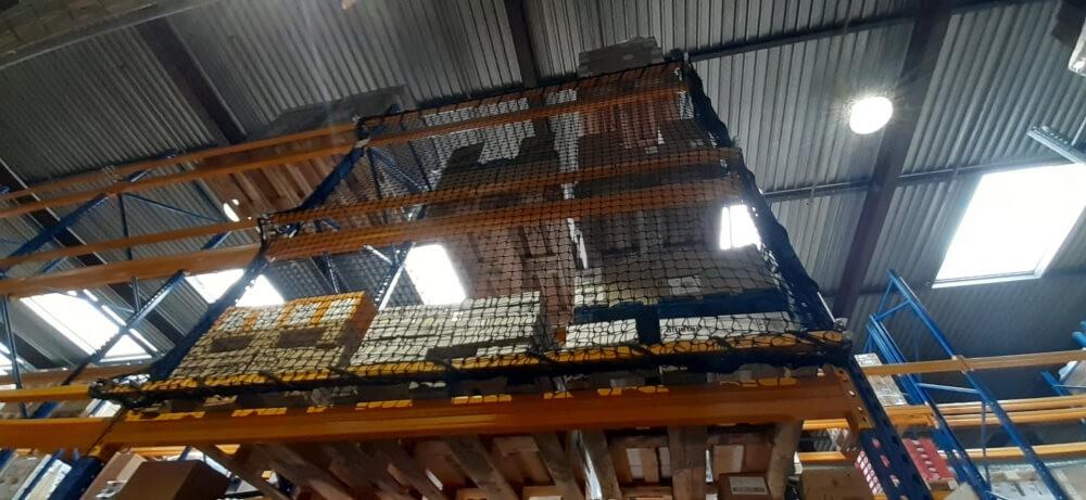 Filet de sécurité pour étagère stockage
