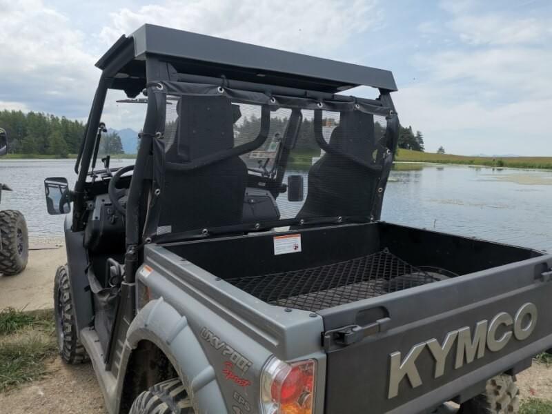 Filet de protection vent, insectes et poussière pour véhicule tout terrain