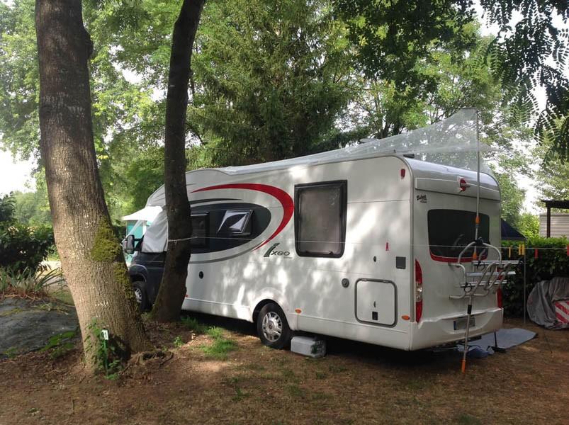 Filet anti-grêle pour camping-car