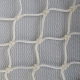 Filet de sécurité EN 1263-1 + pare-gravats - Mailles 100 mm - ∅ 4,75 mm