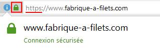 Fabrique à Filets - boutique sécurisée par SSL