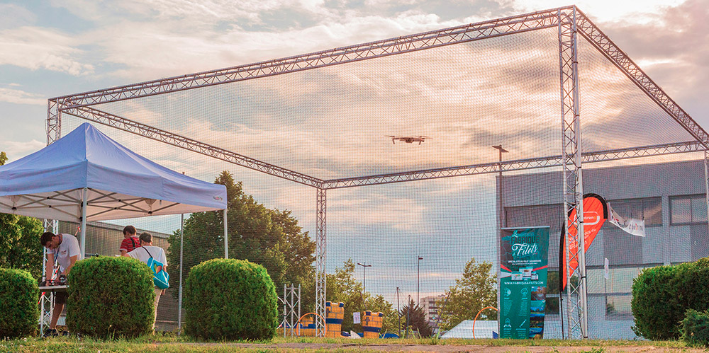 Cage à drone