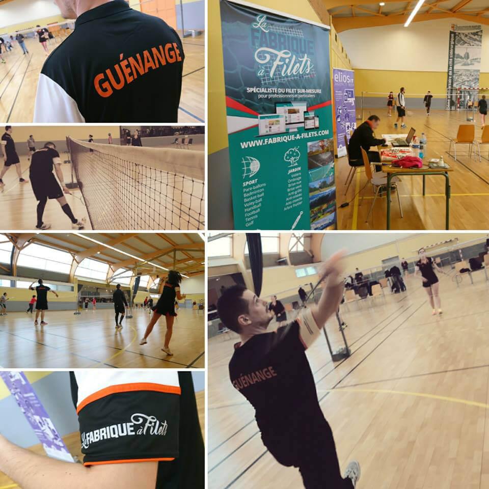 Sponsor officiel du Badminton Guénangeois