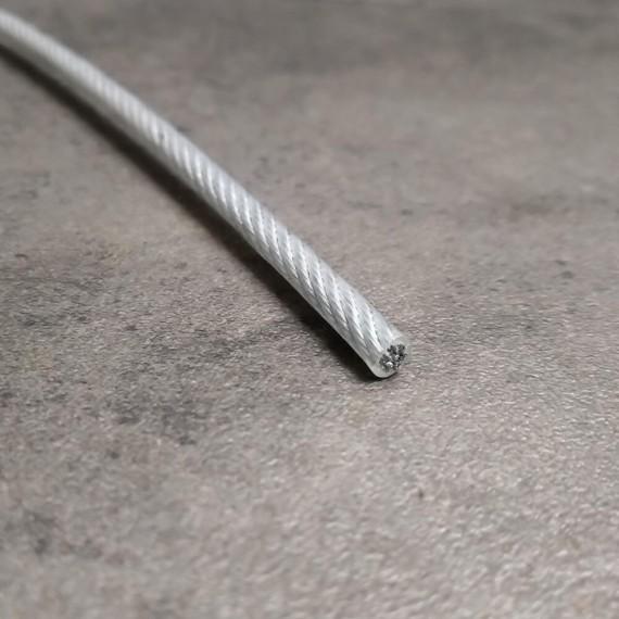 Câble acier PVC pour filets de mezzanine Ø 12 mm gaine incluse