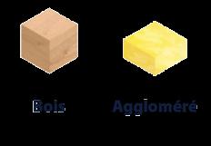 Matériaux vis à bois